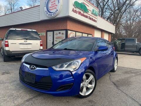 2013 Hyundai Veloster for sale at GMA Automotive Wholesale in Toledo OH