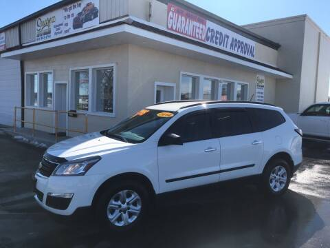 2014 Chevrolet Traverse for sale at Suarez Auto Sales in Port Huron MI