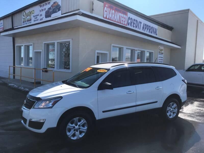 2014 Chevrolet Traverse for sale at Suarez Auto Sales in Port Huron MI
