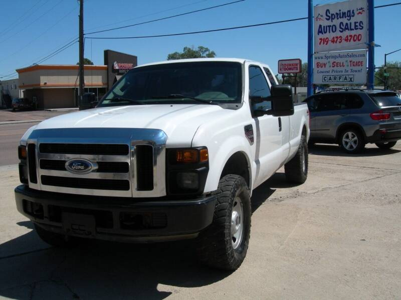 2008 Ford F-250 Super Duty for sale at Springs Auto Sales in Colorado Springs CO