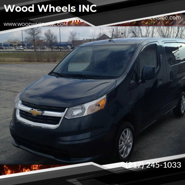 2017 Chevrolet City Express Cargo for sale at Wood Wheels INC in Jacksonville IL