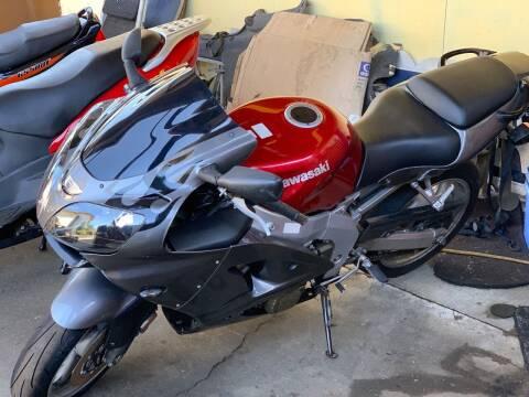 2007 Kawasaki ZZR 600 for sale at MIDLAND MOTORS LLC in Tacoma WA