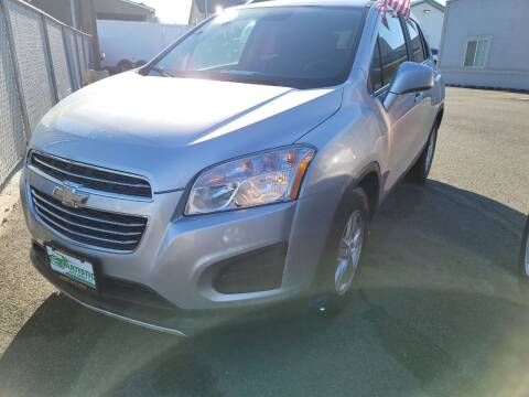 2015 Chevrolet Trax for sale at Artistic Auto Group, LLC in Kennewick WA