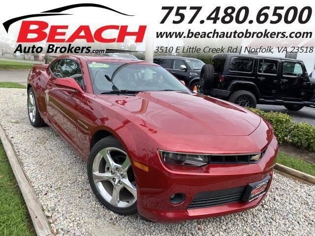 2014 Chevrolet Camaro for sale at Beach Auto Brokers in Norfolk VA