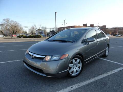 2007 Honda Civic for sale at TJ Auto Sales LLC in Fredericksburg VA