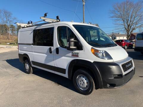 2019 RAM ProMaster Cargo for sale at Twin Rocks Auto Sales LLC in Uniontown PA