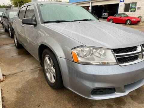 2013 Dodge Avenger for sale at Demetry Automotive in Houston TX