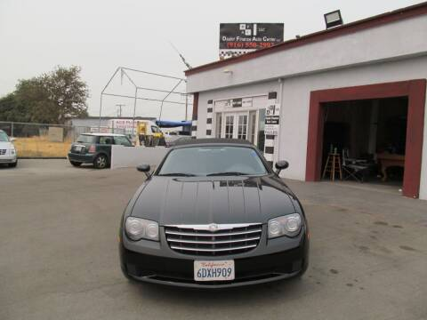 2006 Chrysler Crossfire for sale at Dealer Finance Auto Center LLC in Sacramento CA