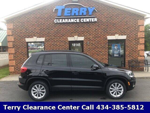 2017 Volkswagen Tiguan for sale at Terry Clearance Center in Lynchburg VA