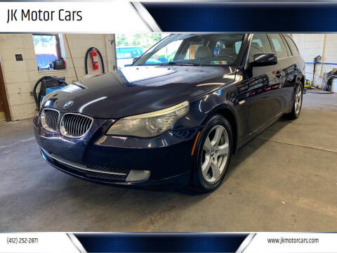 2008 BMW 5 Series for sale at JK Motor Cars in Pittsburgh PA