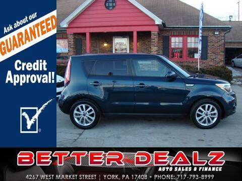 2017 Kia Soul for sale at Better Dealz Auto Sales & Finance in York PA