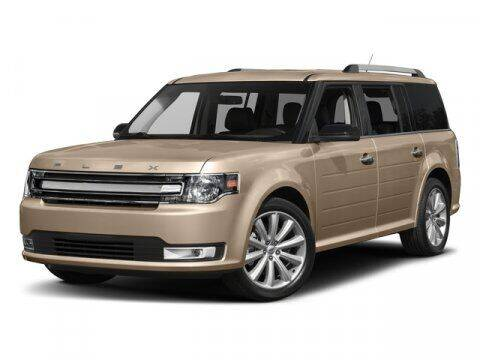 2018 Ford Flex for sale at Hawk Ford of St. Charles in St Charles IL