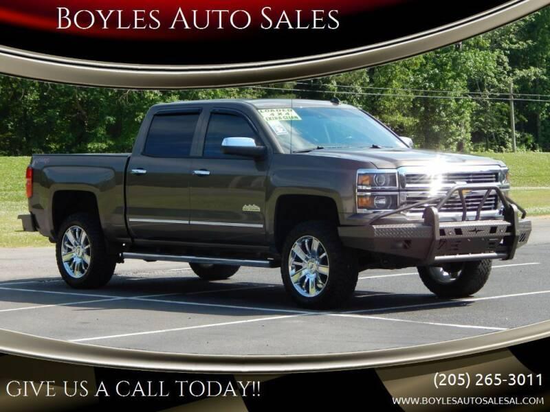 2014 Chevrolet Silverado 1500 for sale at Boyles Auto Sales in Jasper AL
