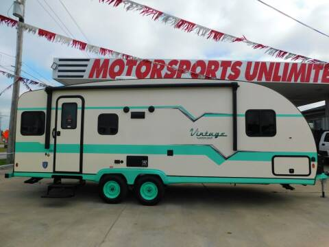 2022 Gulf Stream Vintage Cruiser 23TWS for sale at Motorsports Unlimited in McAlester OK