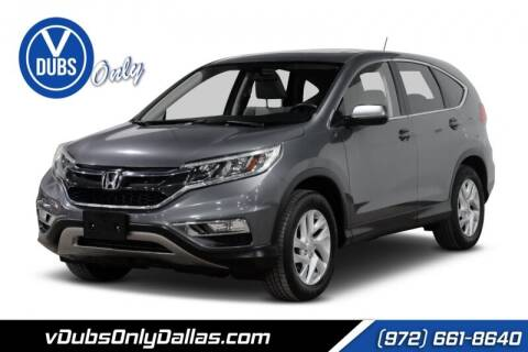 2016 Honda CR-V for sale at VDUBS ONLY in Dallas TX