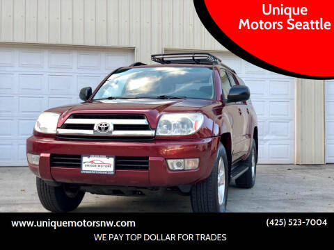 2005 Toyota 4Runner for sale at Unique Motors Seattle in Bellevue WA