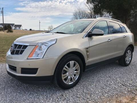 2012 Cadillac SRX for sale at COUNTRYSIDE AUTO SALES 2 in Russellville KY