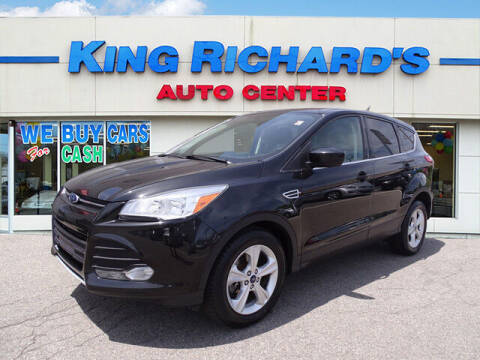 2014 Ford Escape for sale at KING RICHARDS AUTO CENTER in East Providence RI