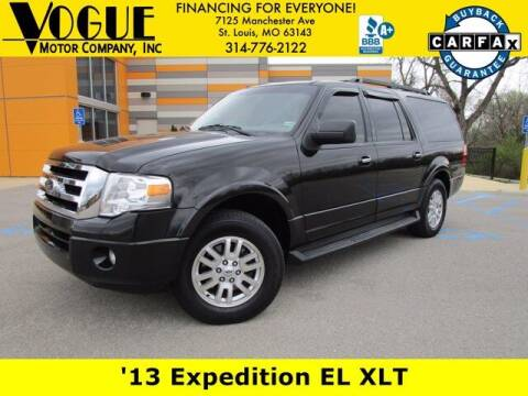 2013 Ford Expedition EL for sale at Vogue Motor Company Inc in Saint Louis MO