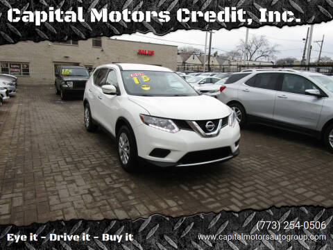 2015 Nissan Rogue for sale at Capital Motors Credit, Inc. in Chicago IL