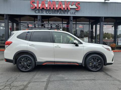 2020 Subaru Forester for sale at Siamak's Car Company llc in Salem OR