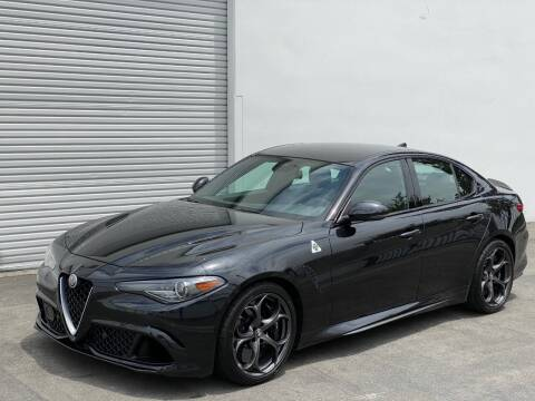 2017 Alfa Romeo Giulia Quadrifoglio for sale at Corsa Exotics Inc in Montebello CA