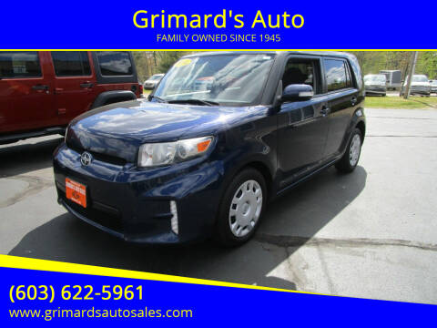 2014 Scion xB for sale at Grimard's Auto in Hooksett NH