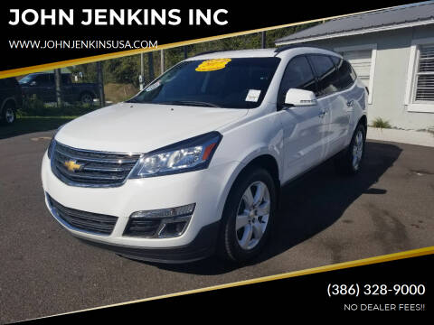 2017 Chevrolet Traverse for sale at JOHN JENKINS INC in Palatka FL