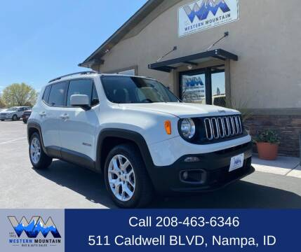 2015 Jeep Renegade for sale at Western Mountain Bus & Auto Sales in Nampa ID