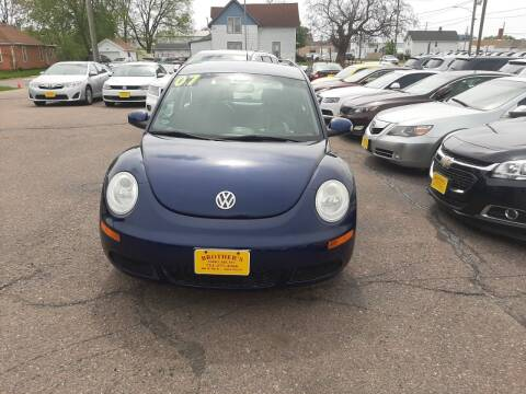 2007 Volkswagen New Beetle for sale at Brothers Used Cars Inc in Sioux City IA