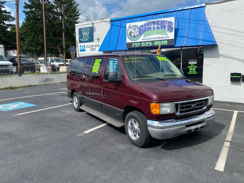 2004 Ford E-Series Wagon for sale at Ginters Auto Sales in Camp Hill PA