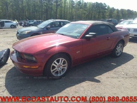 2006 Ford Mustang for sale at East Coast Auto Source Inc. in Bedford VA