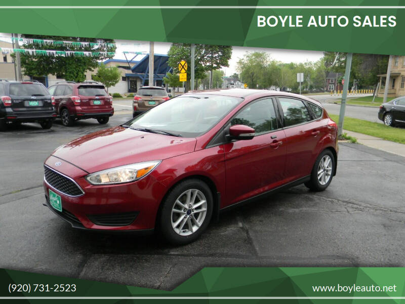 2016 Ford Focus for sale at Boyle Auto Sales in Appleton WI