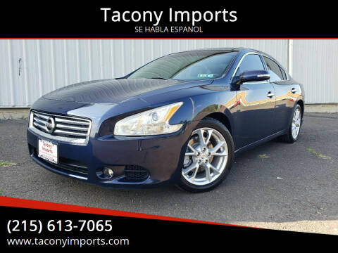 2014 Nissan Maxima for sale at Tacony Imports in Philadelphia PA