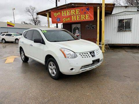 2010 Nissan Rogue for sale at ASHE AUTO SALES, LLC. in Dallas TX
