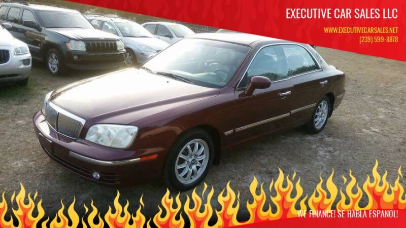 2004 Hyundai XG350 for sale at EXECUTIVE CAR SALES LLC in North Fort Myers FL