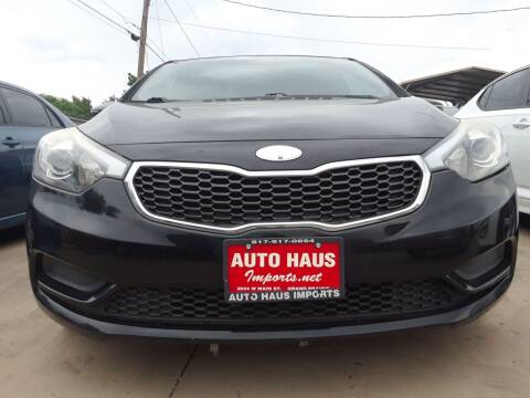 2014 Kia Forte for sale at Auto Haus Imports in Grand Prairie TX