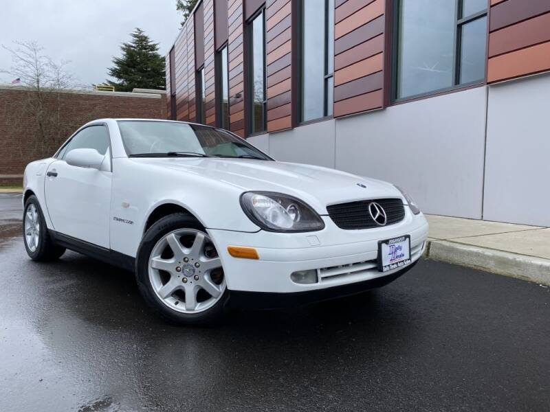1999 Mercedes-Benz SLK for sale at DAILY DEALS AUTO SALES in Seattle WA