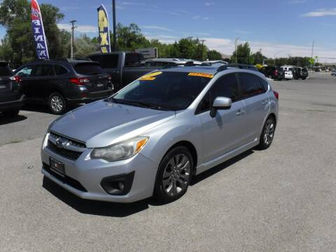 2013 Subaru Impreza for sale at Budget Auto Sales in Carson City NV
