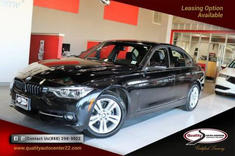 2016 BMW 3 Series for sale at Quality Auto Center in Springfield NJ