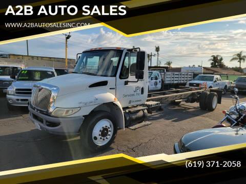 2009 International DuraStar 4300 for sale at A2B AUTO SALES in Chula Vista CA