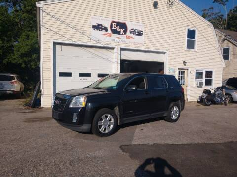 2012 GMC Terrain for sale at E & K Automotive in Derry NH