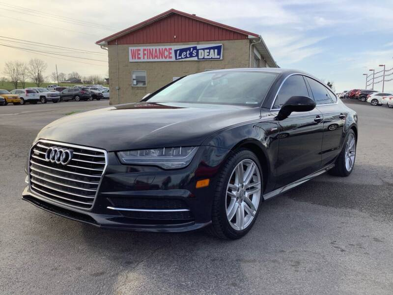 2016 Audi A7 for sale at Auto Martt, LLC in Harrodsburg KY