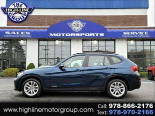 2015 BMW X1 for sale at Highline Group Motorsports in Lowell MA