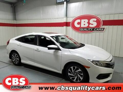 2018 Honda Civic for sale at CBS Quality Cars in Durham NC
