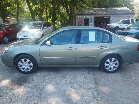 2006 Chevrolet Malibu for sale at D & D Auto Sales in Topeka KS