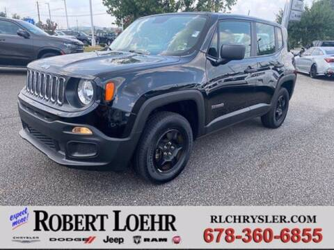 2017 Jeep Renegade for sale at Robert Loehr Chrysler Dodge Jeep Ram in Cartersville GA
