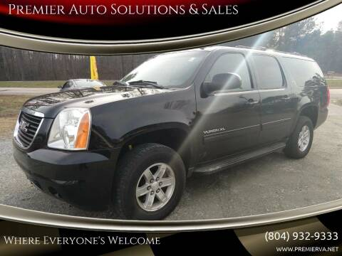 2011 GMC Yukon XL for sale at Premier Auto Solutions & Sales in Quinton VA