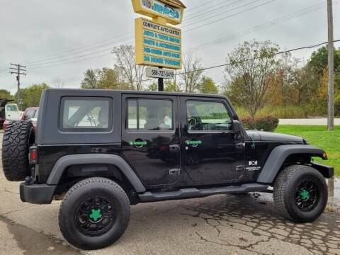 2007 Jeep Wrangler Unlimited for sale at JEREMYS AUTOMOTIVE in Casco MI