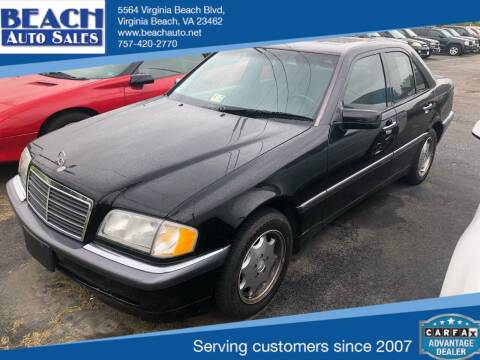 2000 Mercedes-Benz C-Class for sale at Beach Auto Sales in Virginia Beach VA